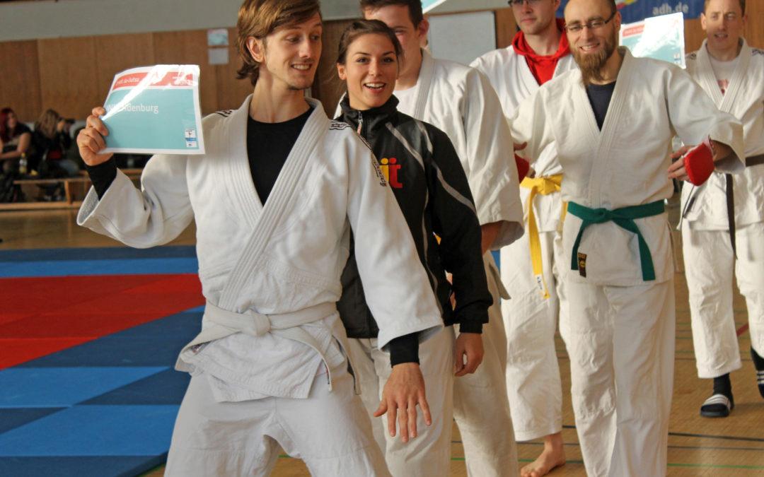 Platz Drei für die Uni Magdeburg bei den 1. DHM im Ju-Jitsu